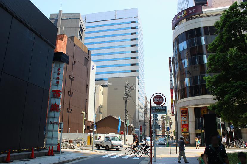 名駅4丁目の飲食ビルが着工!