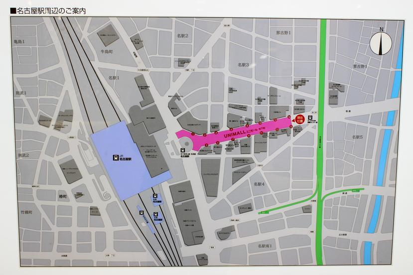 ユニモール地下街を大規模リニューアル!2015年秋のオープンへ工事が本格化!