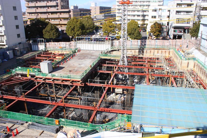 名東区初のタワーマンション「アトラスタワー本郷駅前」建設中!