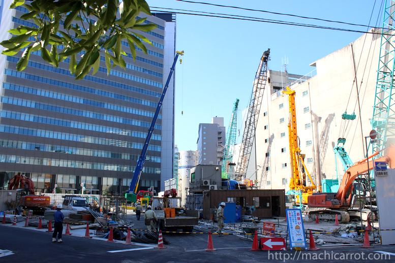 「第二豊田ビル」建替え工事 市道の切り替え完了!