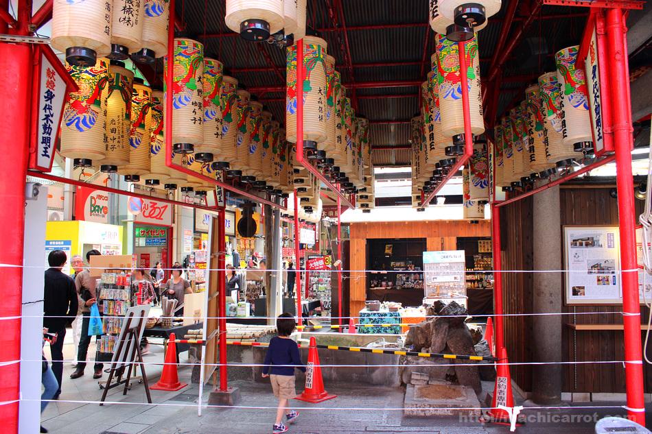 万松寺稲荷堂・不動堂を建替えへ 大須 東仁王門通りがリニューアル!
