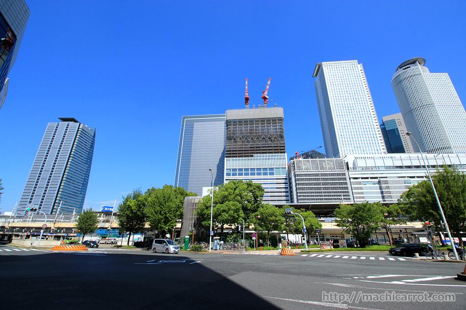 JRゲートタワー・JPタワー名古屋(太閤通口側)2015.9.12