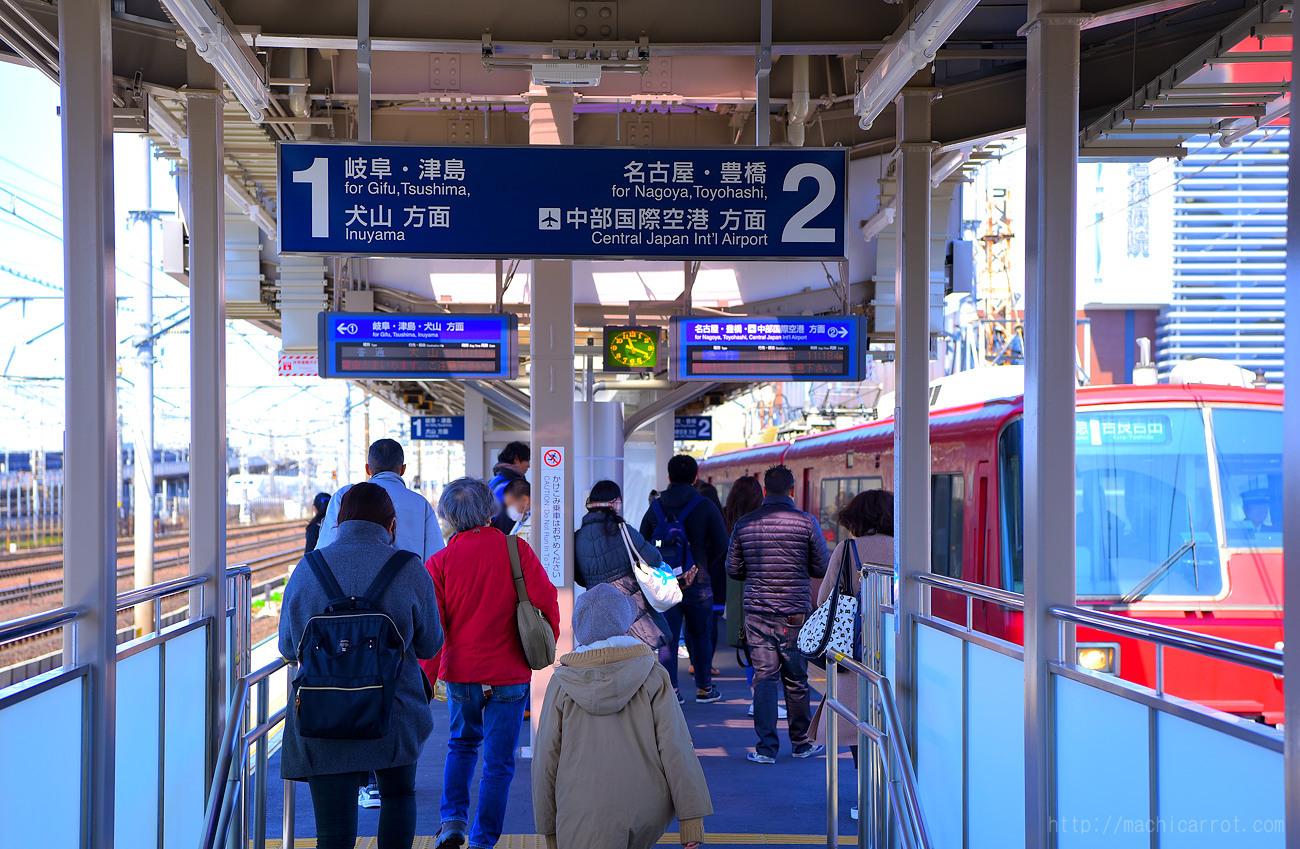 名鉄栄生駅が大幅リニューアル!+駅ナンバリングの導入開始!