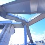 ささしま地区内の各街区 2017.1.22 まだまだ伸びる「ささしま米野歩道橋」 その先は!?