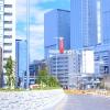 だいぶ幹線道路らしくなってきた椿町線延伸区間(太閤1~アンダーパス北側) 2017.3.11