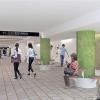 名古屋市交通局が金城学院大・アイカ工業(株)とコラボで地下鉄千種駅コンコースを大規模リニューアルへ!2018年夏完成予定!