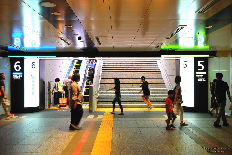 JR東京駅改札内コンコース&ホームの改良工事 各ホームをつなぐ新しい「北通路」が供用開始! 2017.9.10