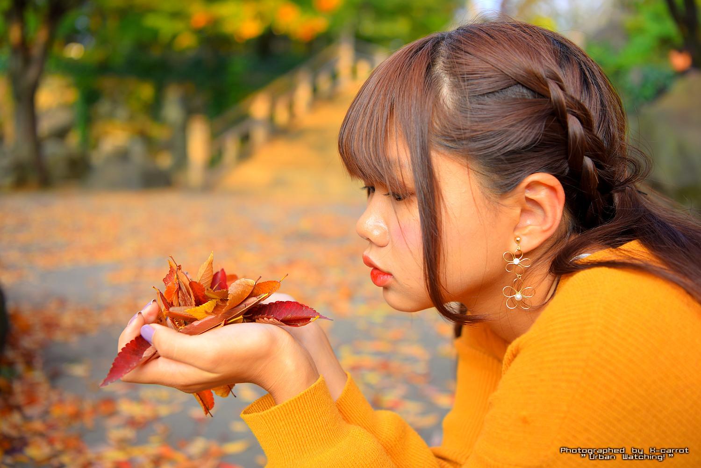 秋深まる王子駅周辺(北区王子・飛鳥山公園)でポートレート撮影に挑戦。