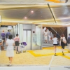 「サカエチカ」リニューアル工事  北通路東山線連絡口の斜行エレベーターが着工! 2017.11.19