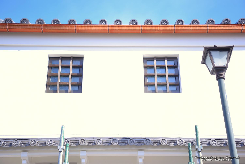 【四間道】解体を逃れた長屋の改修工事が完了!新しい内装はー旧青木邸土蔵の外壁補修工事 2018.2.17